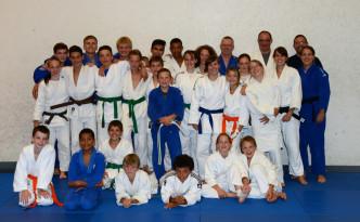 Gruppenbild Judolager 2014
